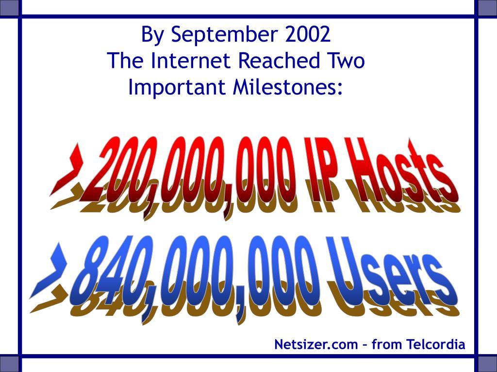 By September 2002
