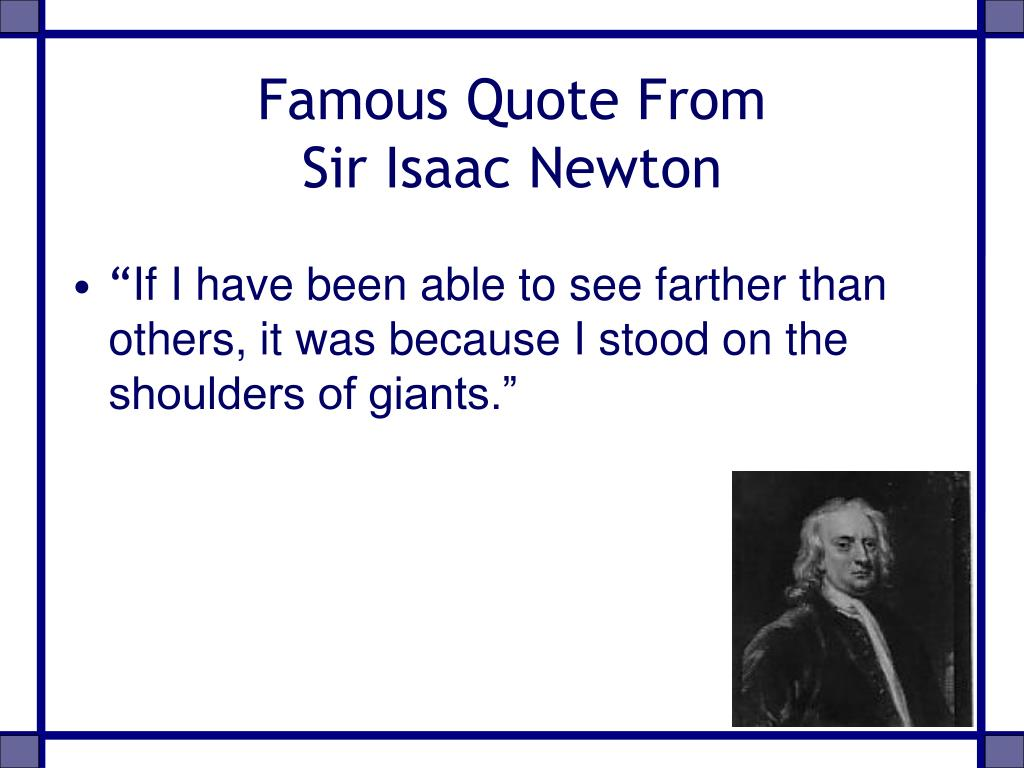 Famous Quote From