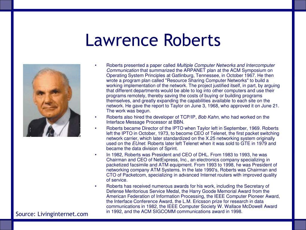 Lawrence Roberts