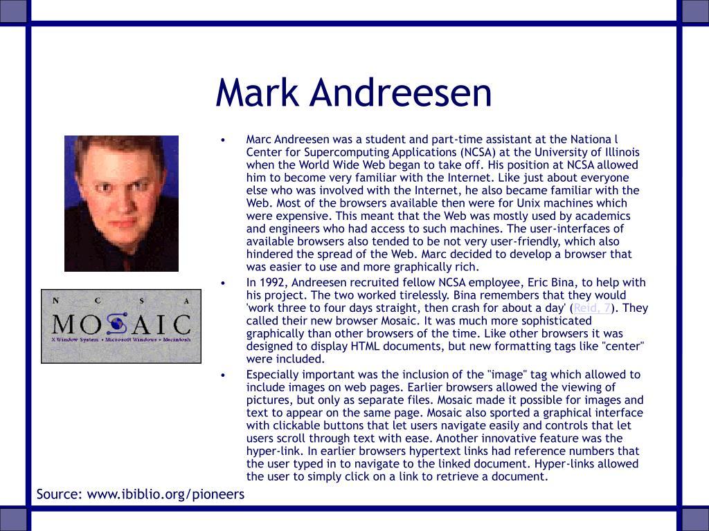 Mark Andreesen