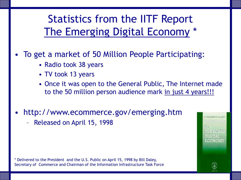 Statistics from the IITF Report