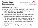 teacher notes implementation19