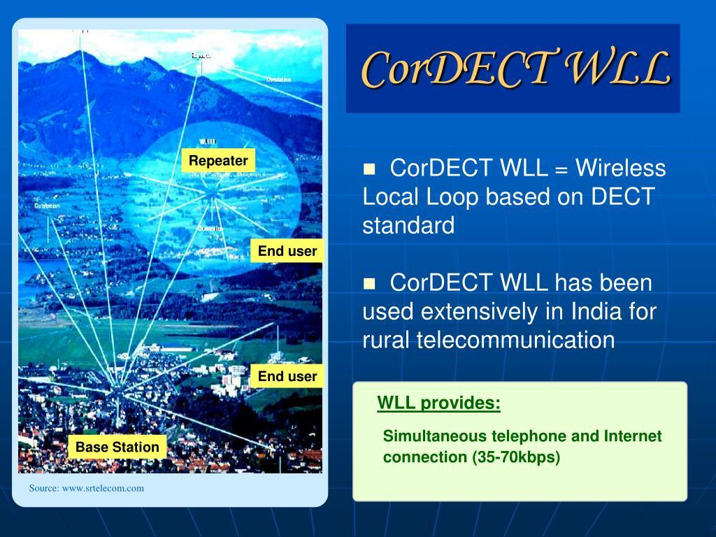 WLL provides:
