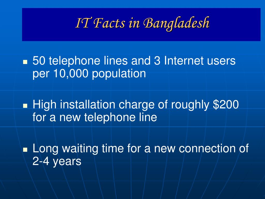 IT Facts in Bangladesh