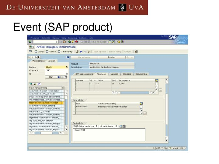 Event (SAP product)