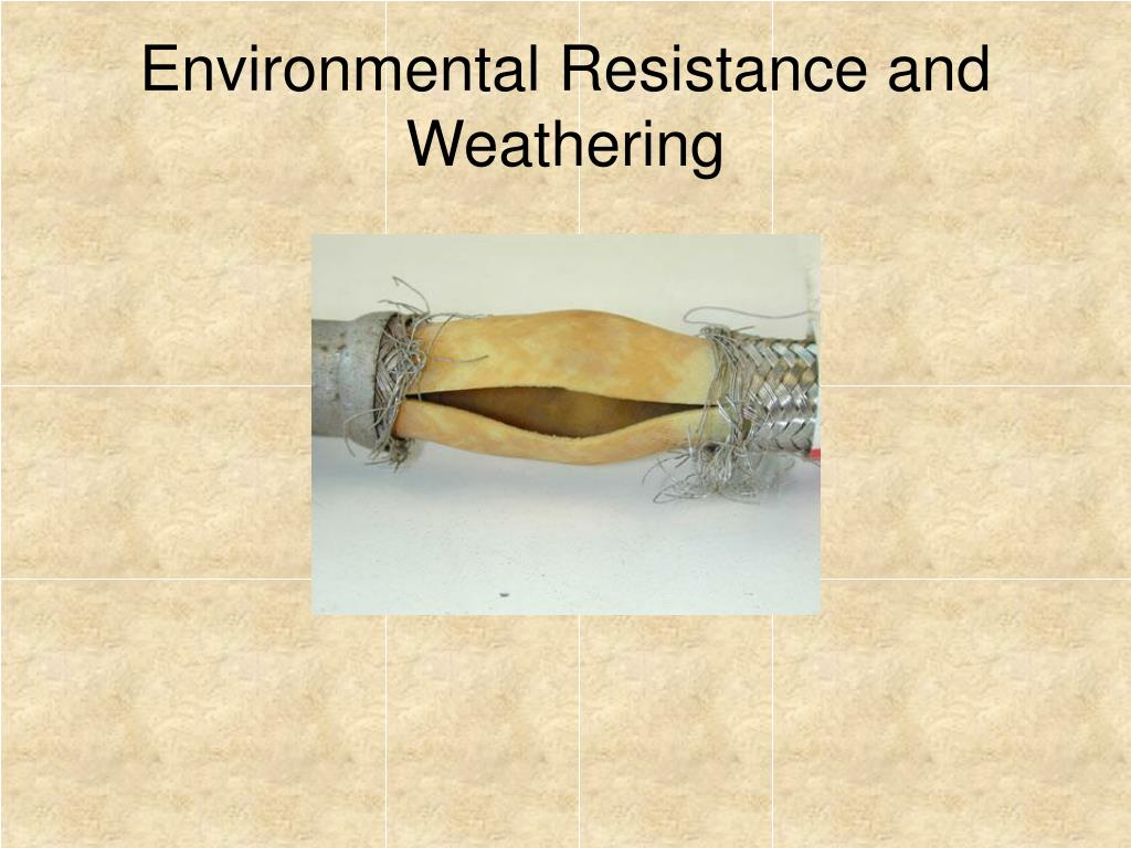 Environmental Resistance and Weathering