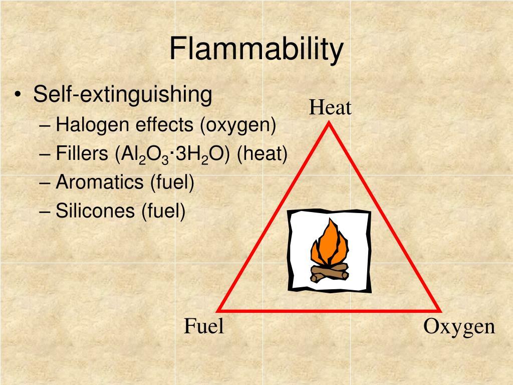 Flammability
