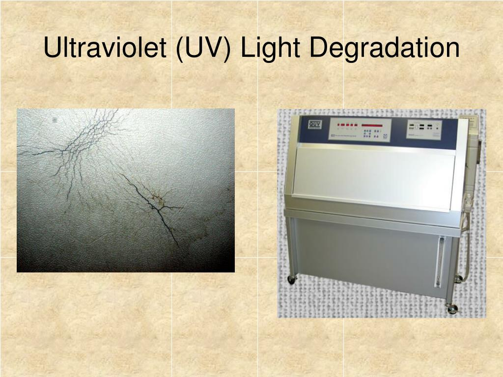 Ultraviolet (UV) Light Degradation