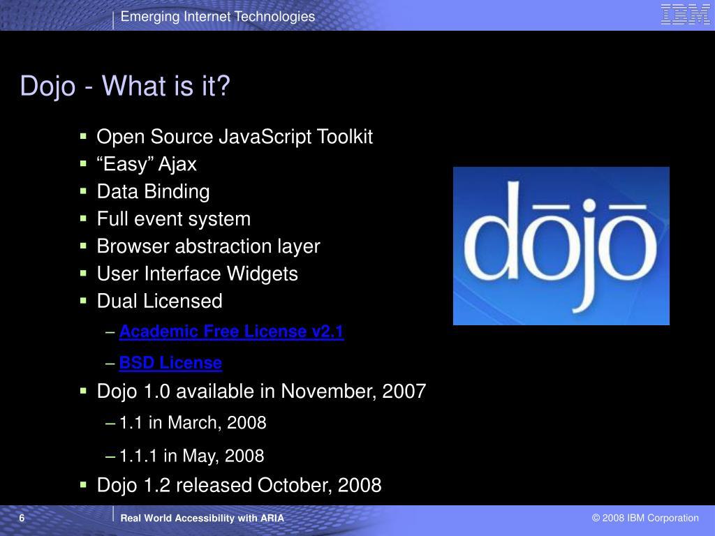 Dojo - What is it?