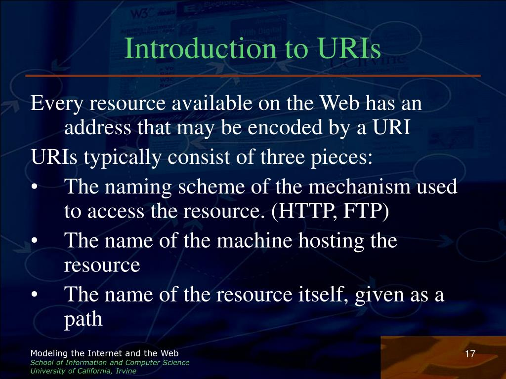 Introduction to URIs