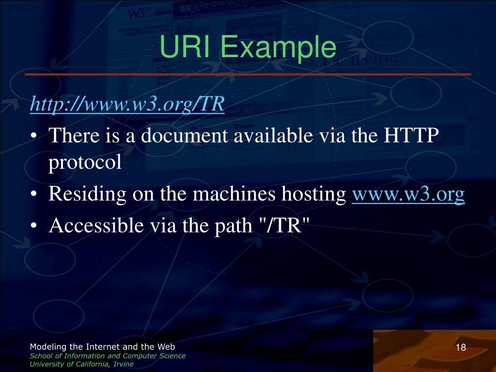 URI Example