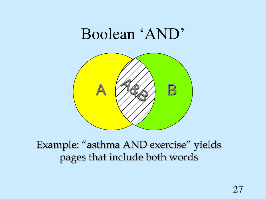Boolean 'AND'