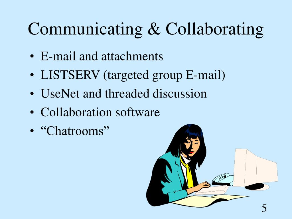 Communicating & Collaborating