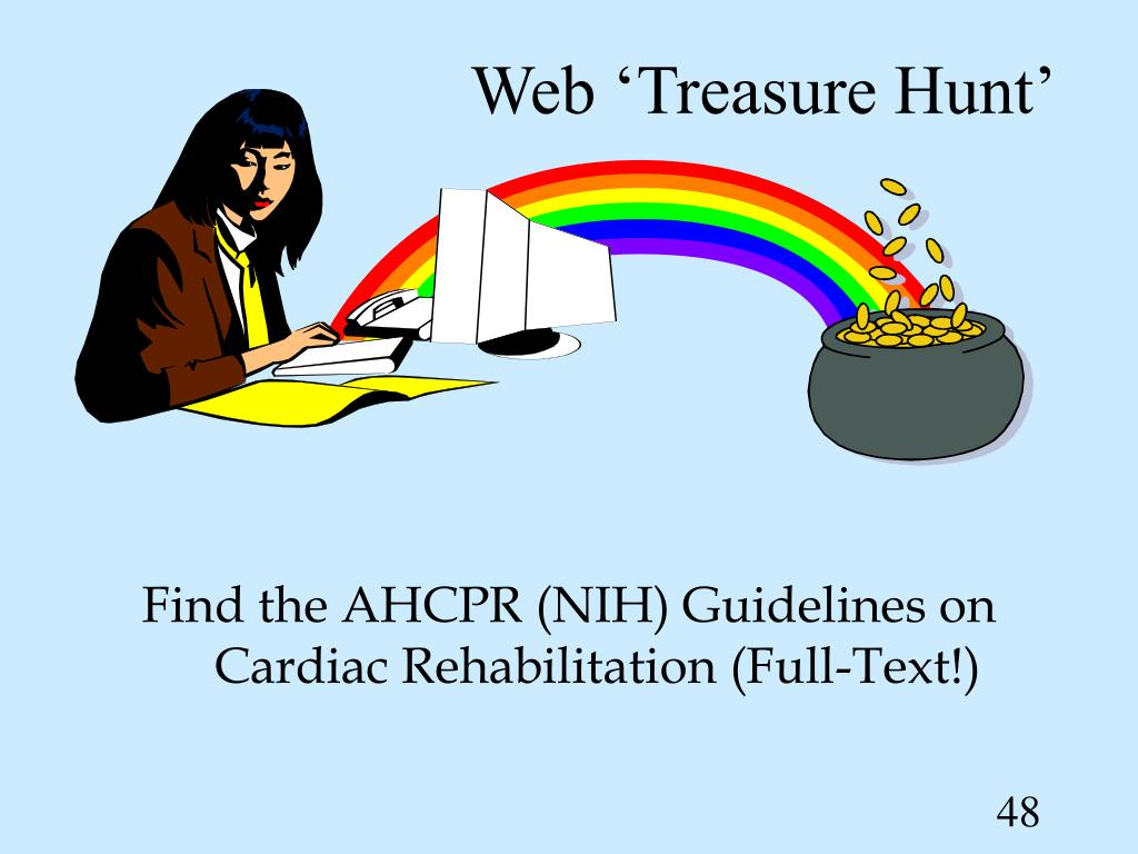 Web 'Treasure Hunt'