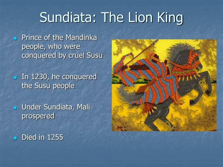 Sundiata the lion king