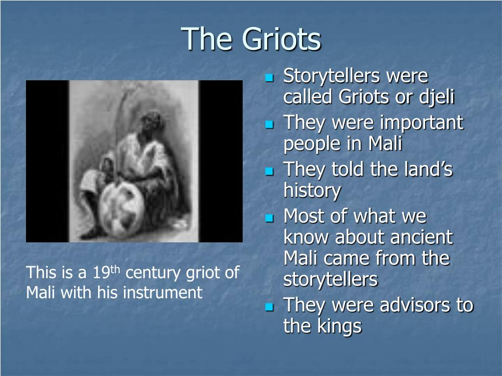 The Griots