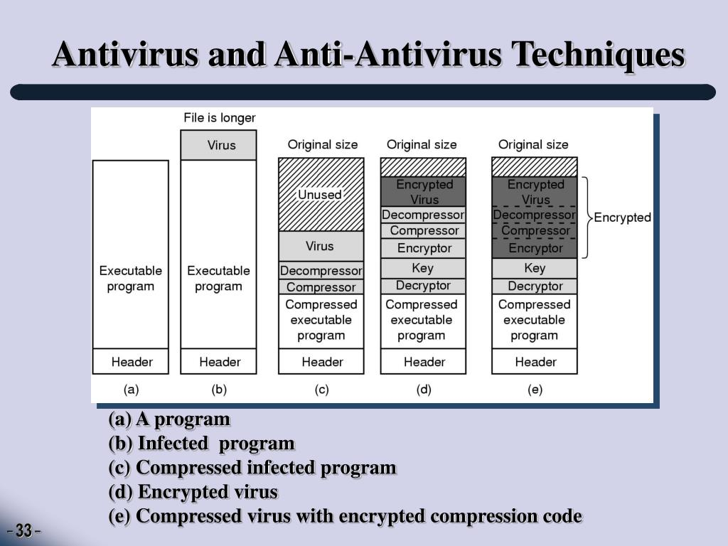 Antivirus and Anti-Antivirus Techniques