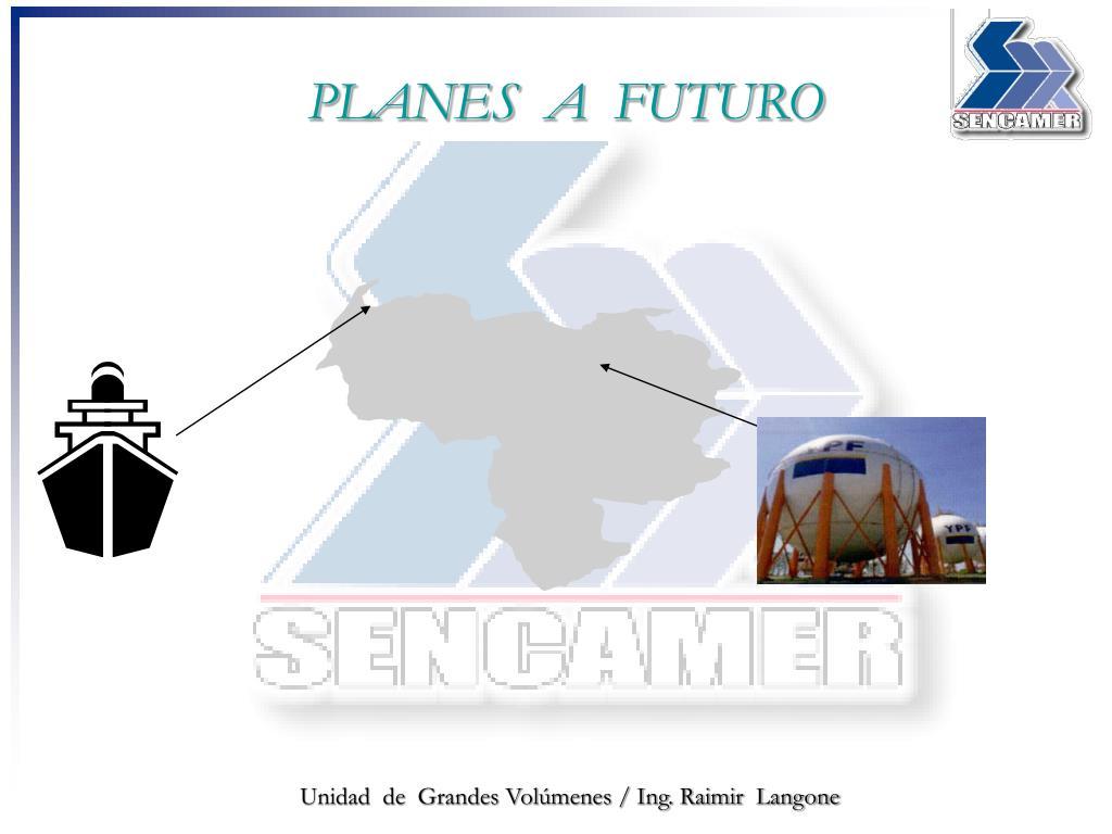 PLANES  A  FUTURO