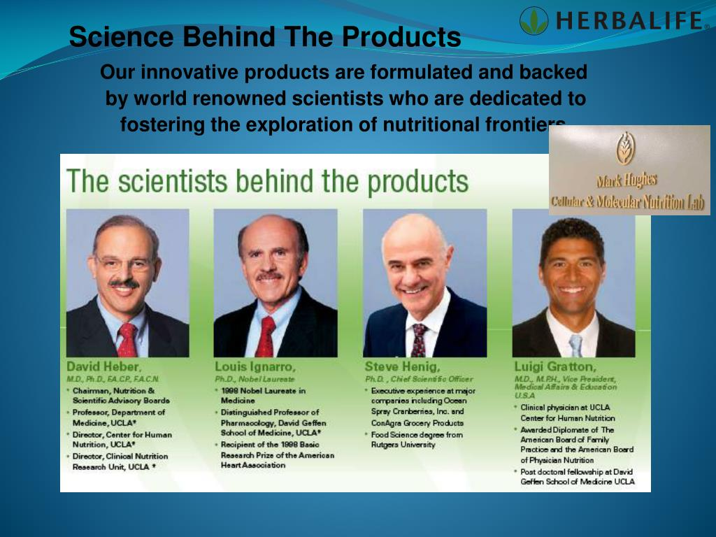 Science Behind The Products