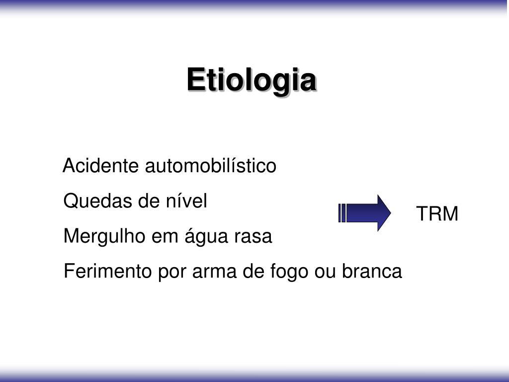 Etiologia