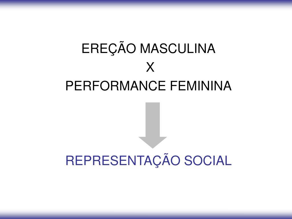 EREÇÃO MASCULINA