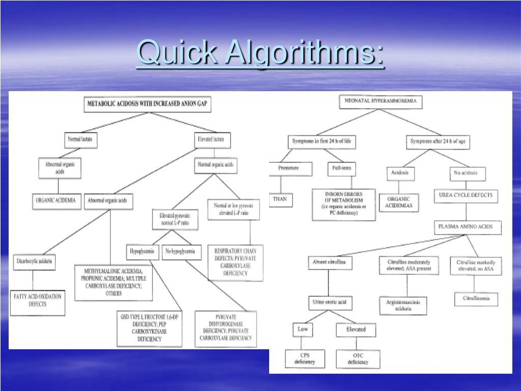 Quick Algorithms:
