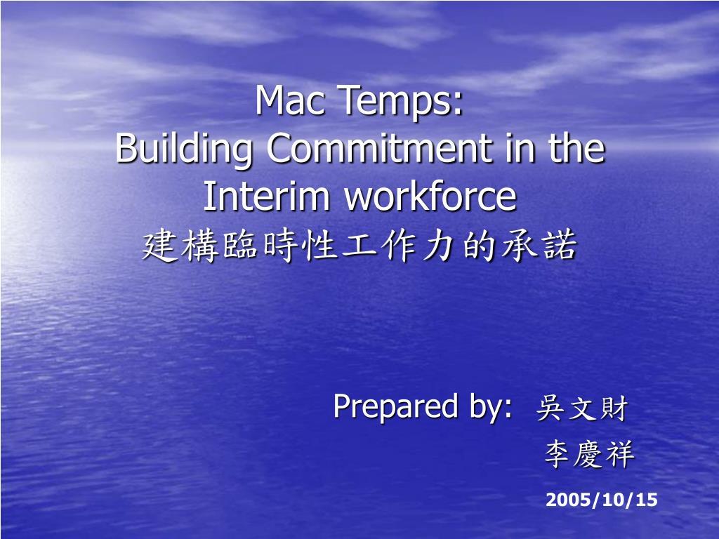 Mac Temps: