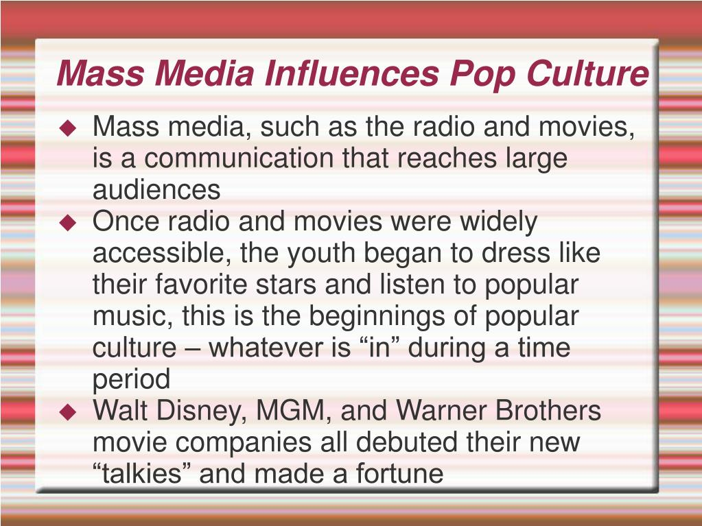 how radio influences society I avoided the morning newspaper and radio program, because i knew i couldn't count that fast by the time i thus society benefits from persuasion.