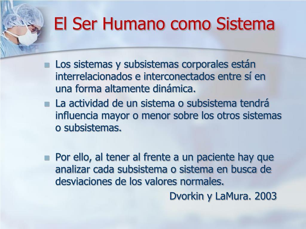 El Ser Humano como Sistema