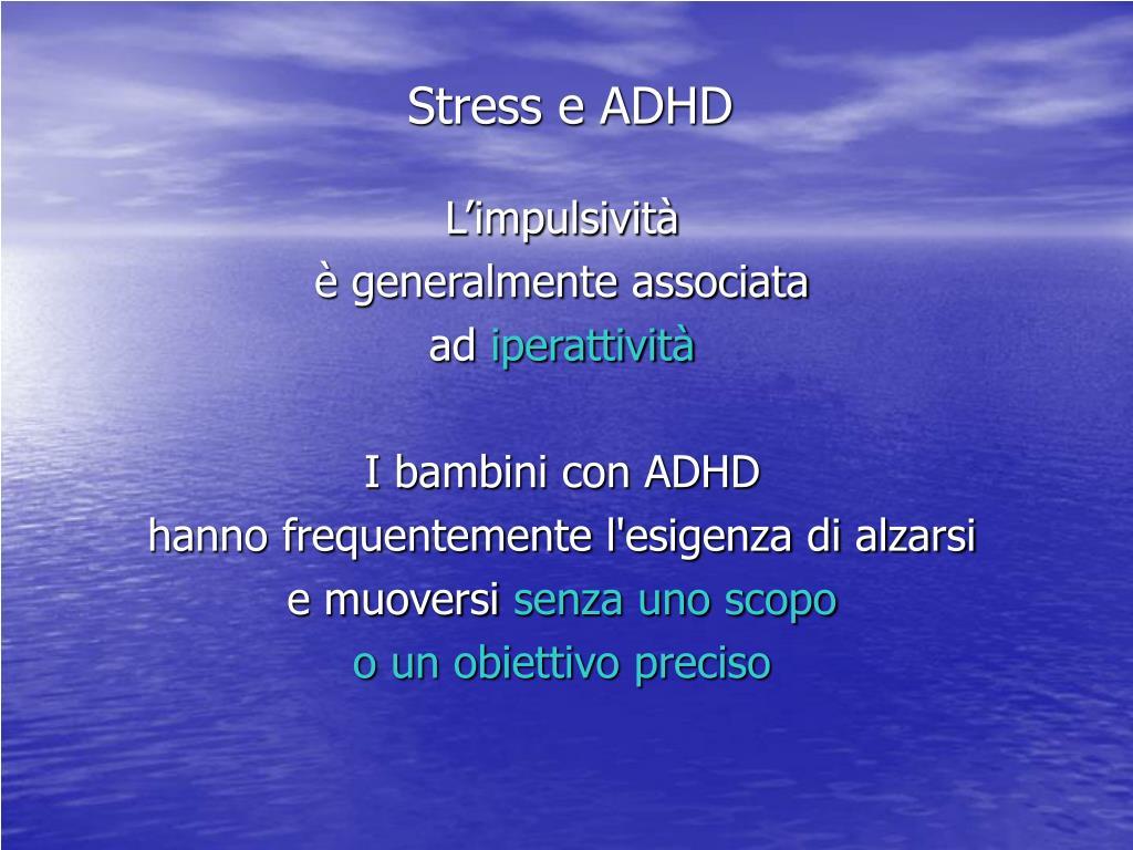 Stress e ADHD