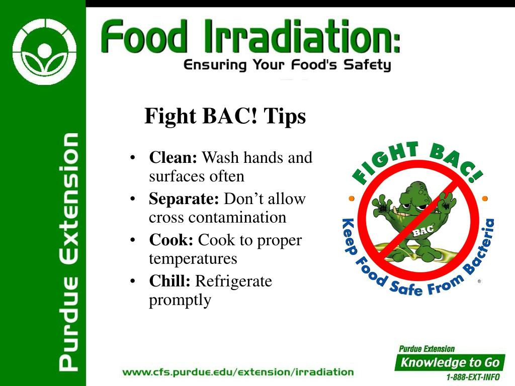 Fight BAC! Tips