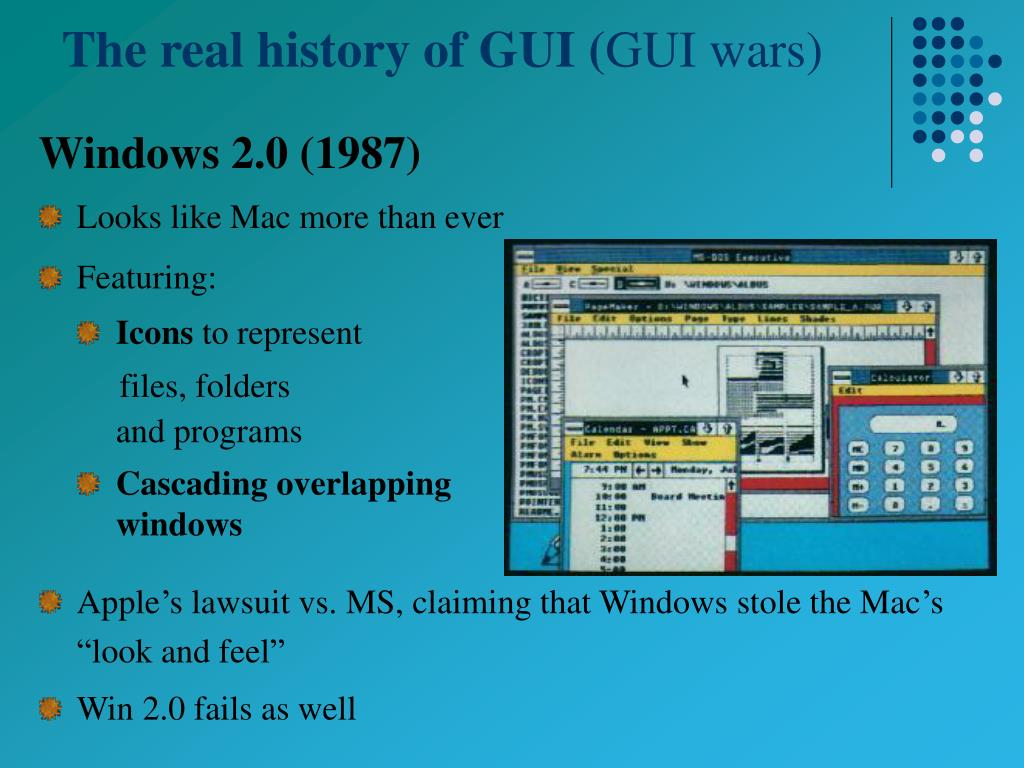 The real history of GUI (