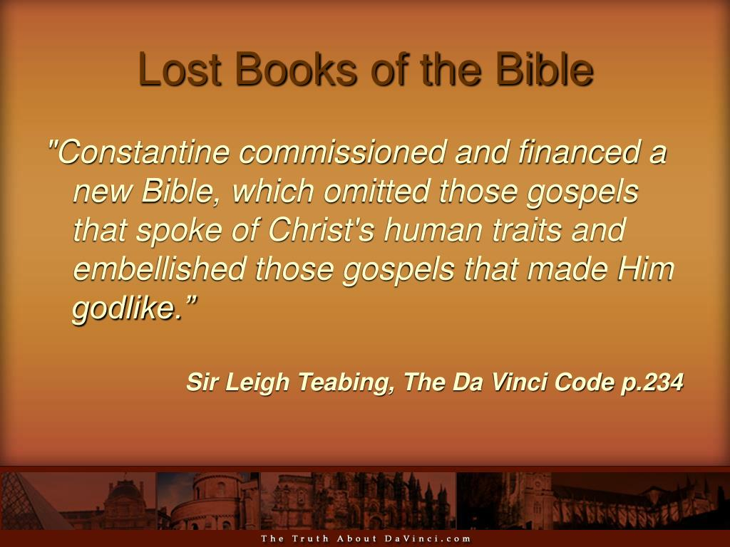 Lost Books of the Bible