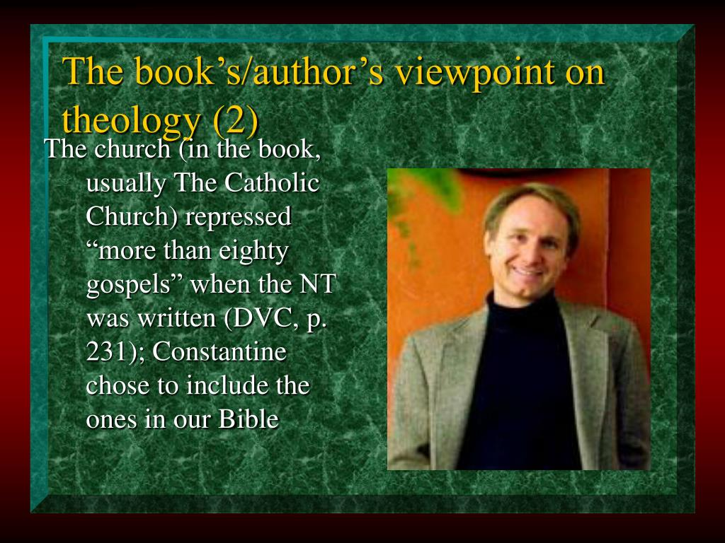 The book's/author's viewpoint on theology (2)