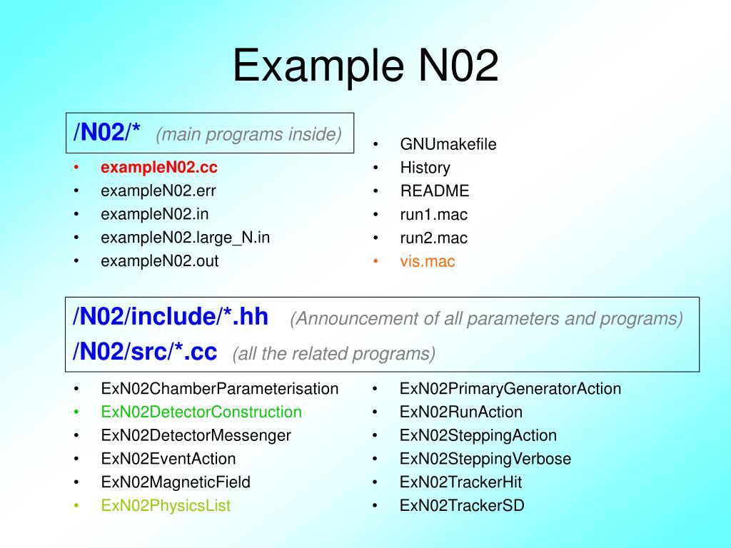 Example N02