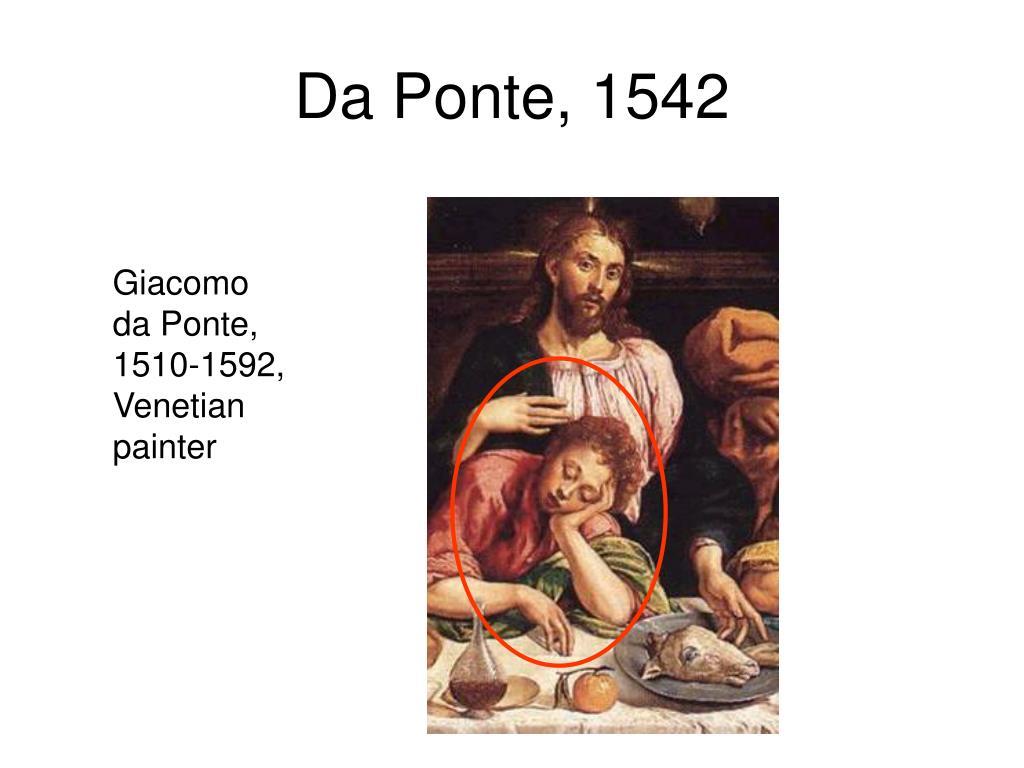 Da Ponte, 1542