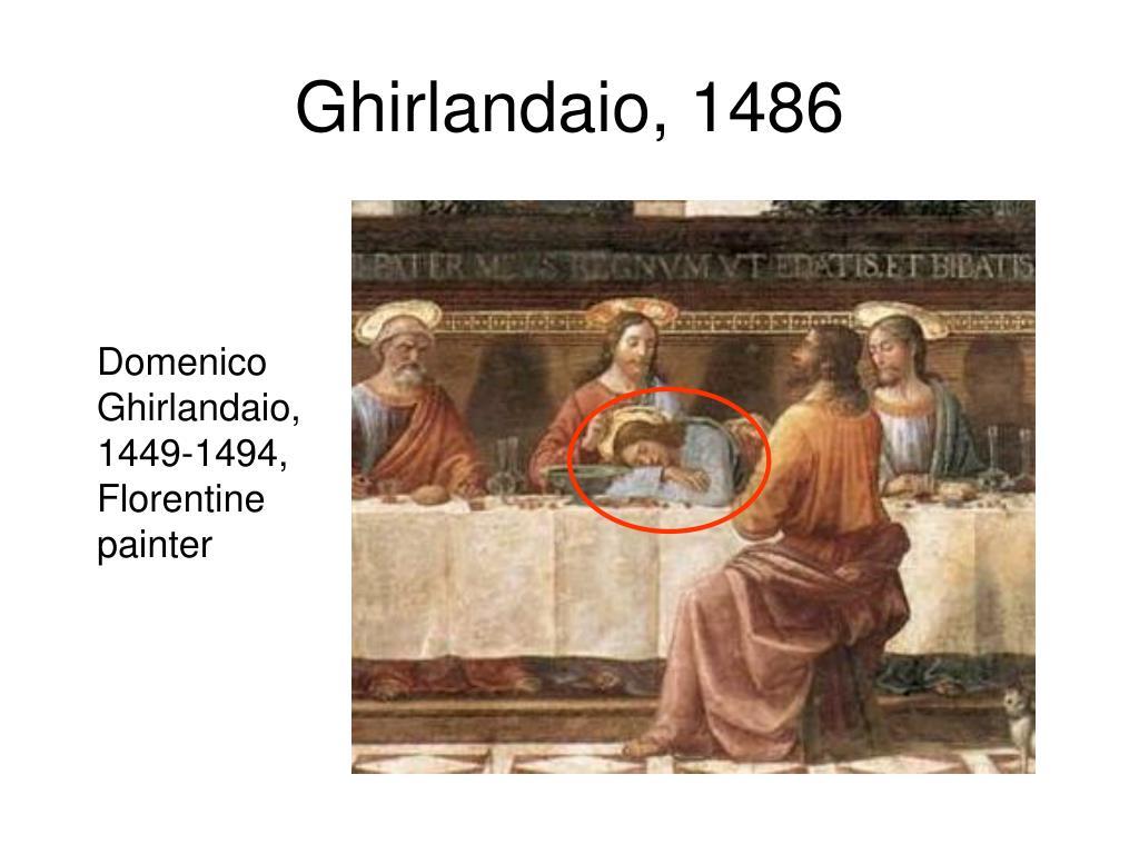 Ghirlandaio, 1486