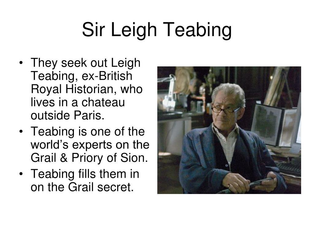 Sir Leigh Teabing