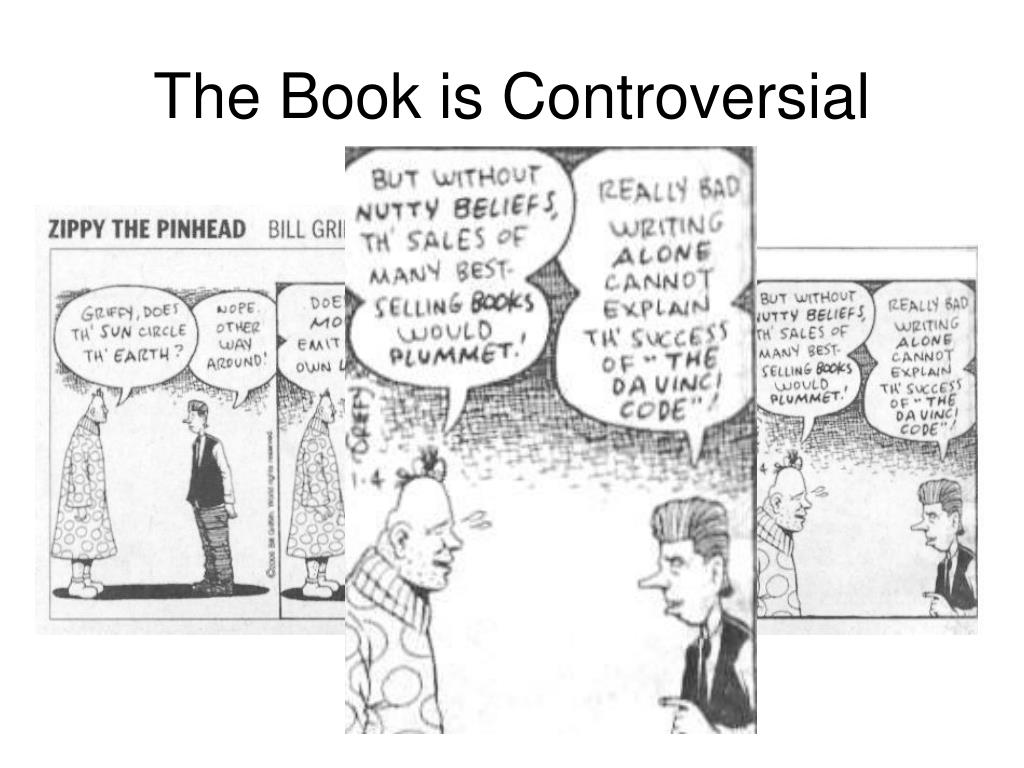 The Book is Controversial