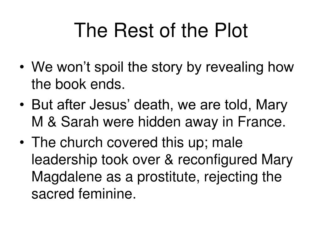 The Rest of the Plot