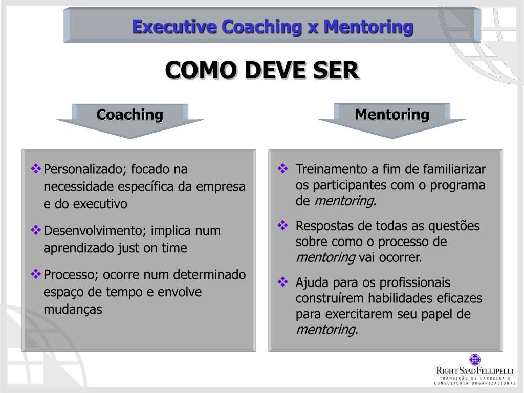 Personalizado; focado na necessidade específica da empresa e do executivo