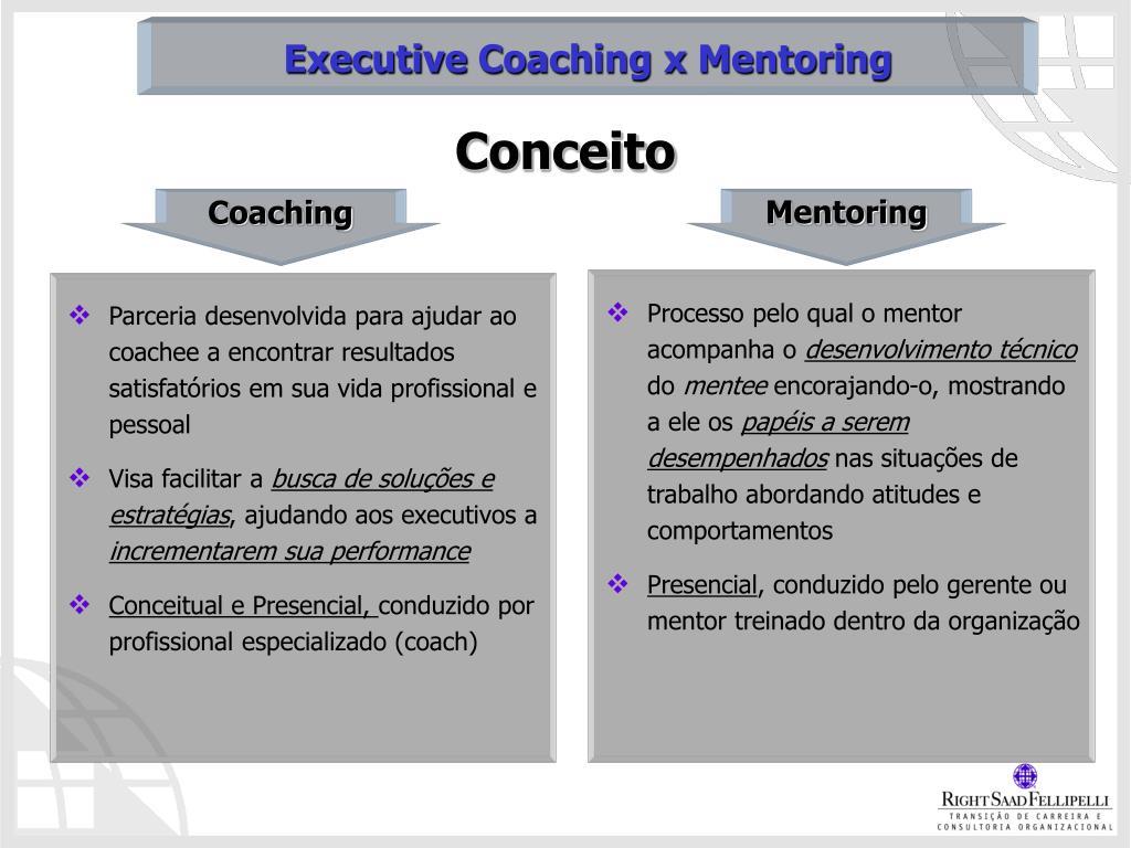 Parceria desenvolvida para ajudar ao coachee a encontrar resultados satisfatórios em sua vida profissional e pessoal