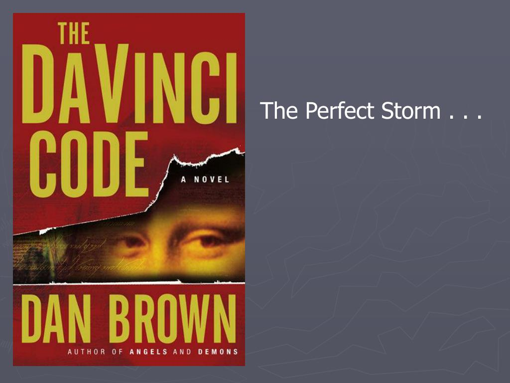 The Perfect Storm . . .