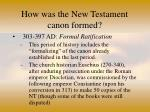 how was the new testament canon formed27