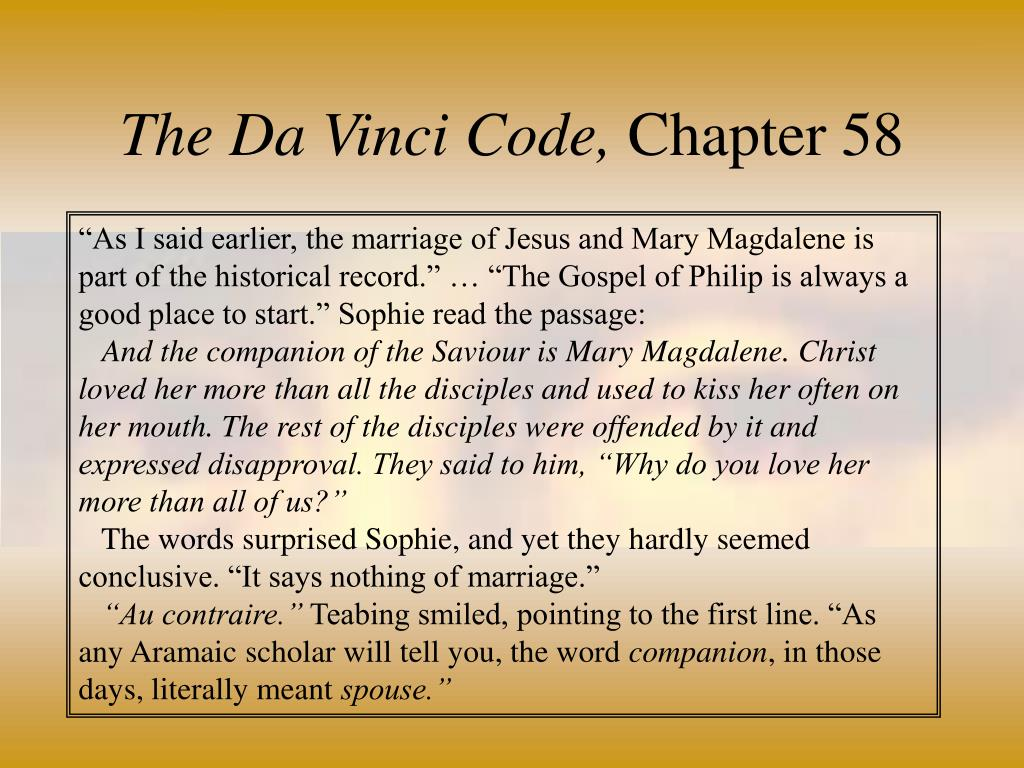 The Da Vinci Code,
