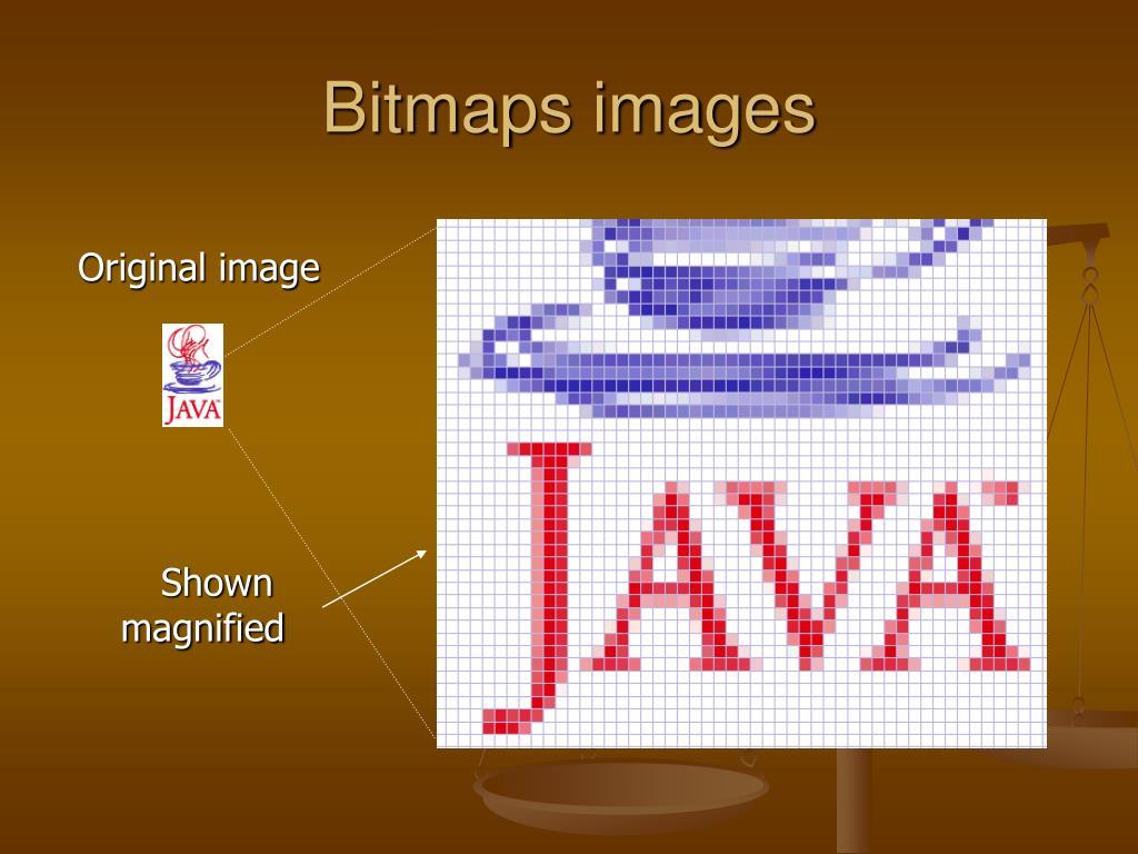 Bitmaps images