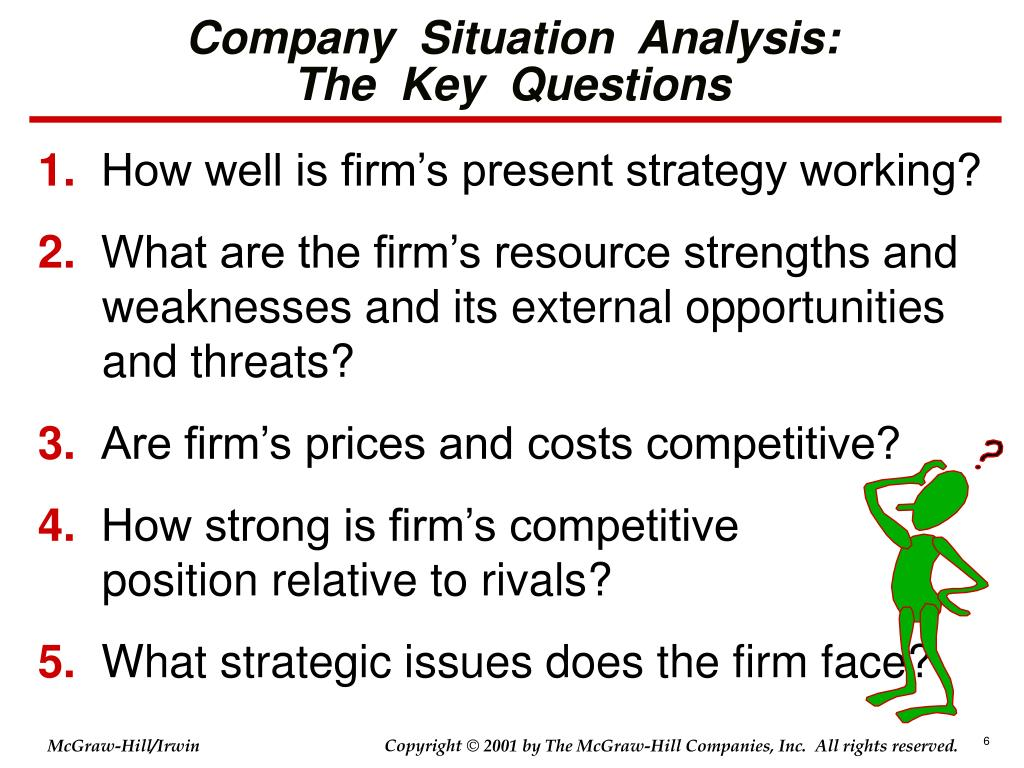 Company  Situation  Analysis: