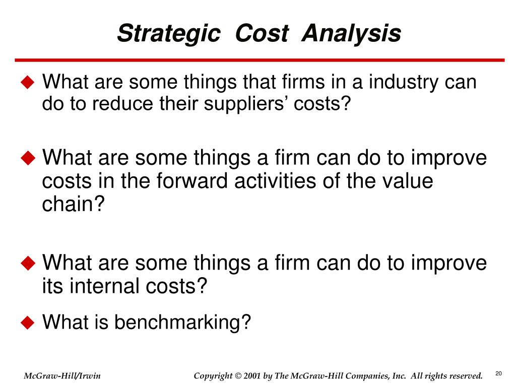 how to do a cost to serve analysis