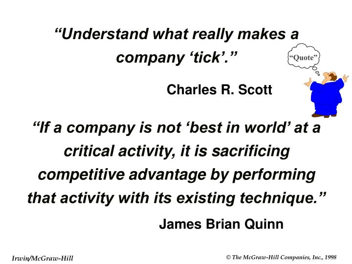 Understand what really makes a company tick l.jpg