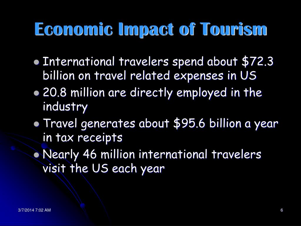 Economic Impact of Tourism